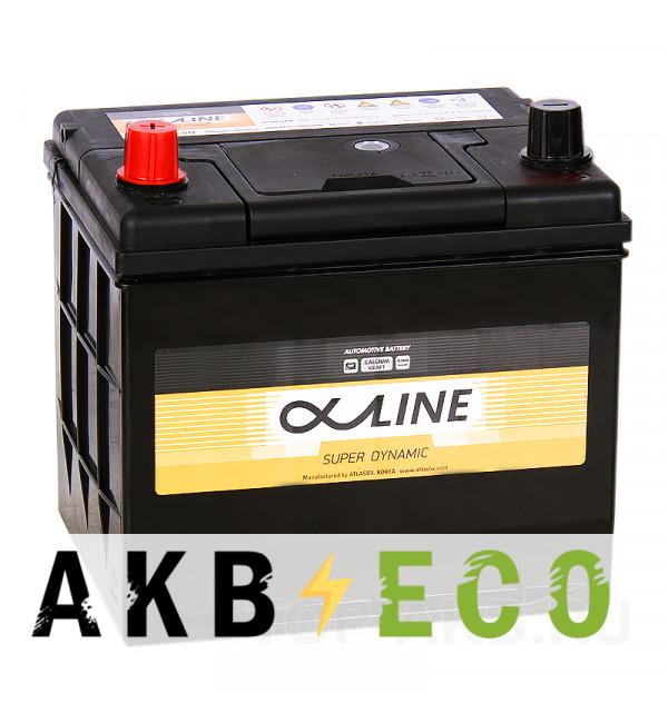 Автомобильный аккумулятор Alphaline SD 26-550 50L 550A 208x172x200