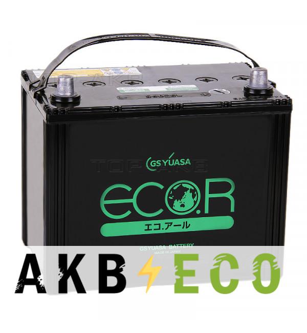 Автомобильный аккумулятор GS Yuasa EC-85D26L (68R 615A 260x173x225) ECO.R