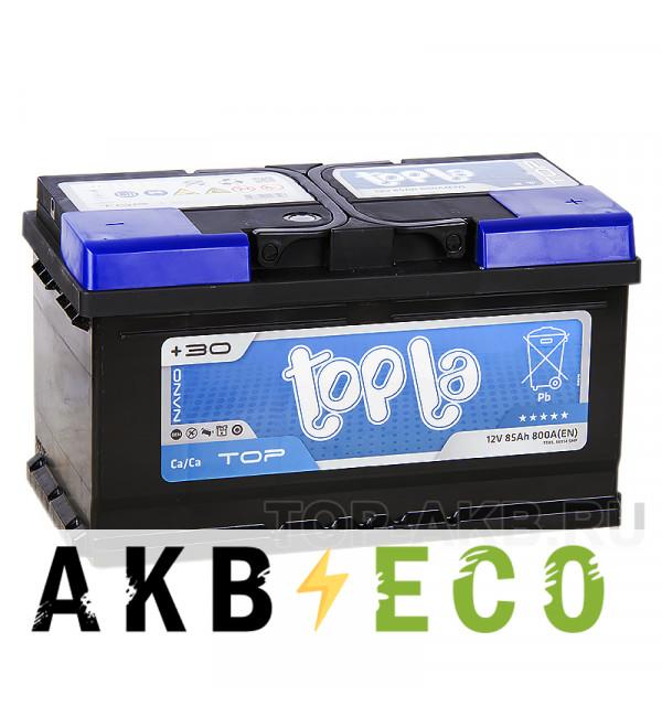 Автомобильный аккумулятор Topla Top 85R (800A 315x175x175) 118685 58514