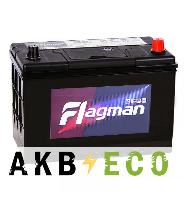 Автомобильный аккумулятор Flagman 115D31L 100R 850A 302x172x220