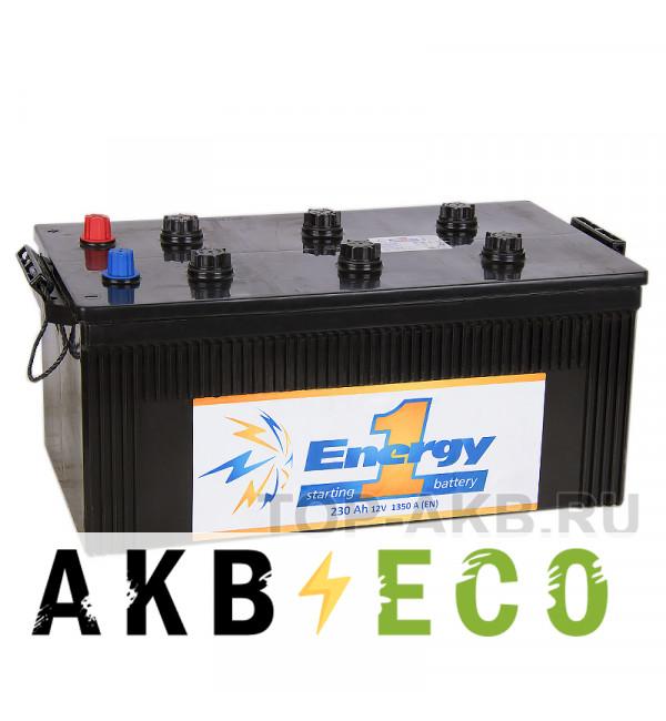 Автомобильный аккумулятор Energy ONE 230 Ач 1350А 518x276x242