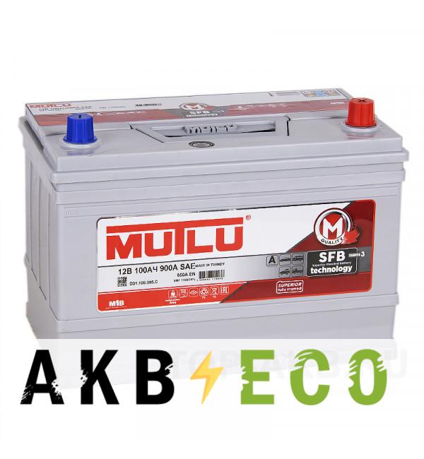 Автомобильный аккумулятор Mutlu 115D31FL 100R 850A (306x175x225)
