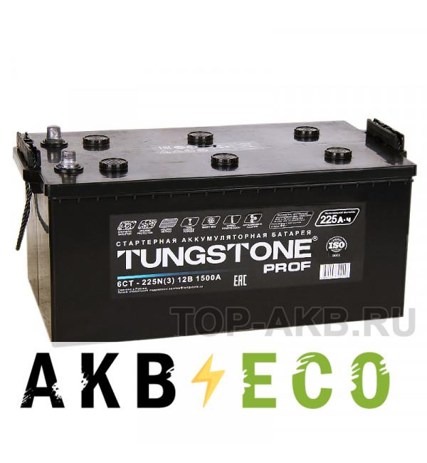 Грузовой аккумулятор Tungstone Prof 225 евро 1500А 518x278x242