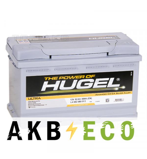 Автомобильный аккумулятор Hugel Ultra 82R 800A (315x175x190) L4 082 074 013