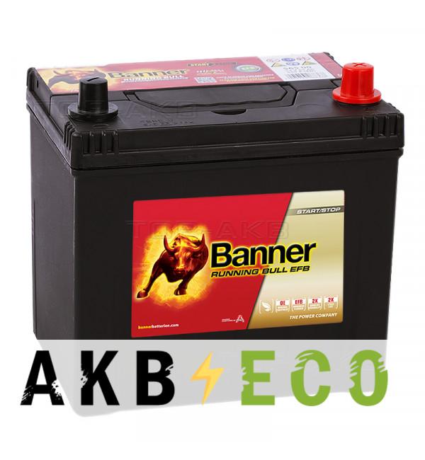 Автомобильный аккумулятор Banner Running Bull EFB Start-Stop (565 15) 65R 550A 232x173x225
