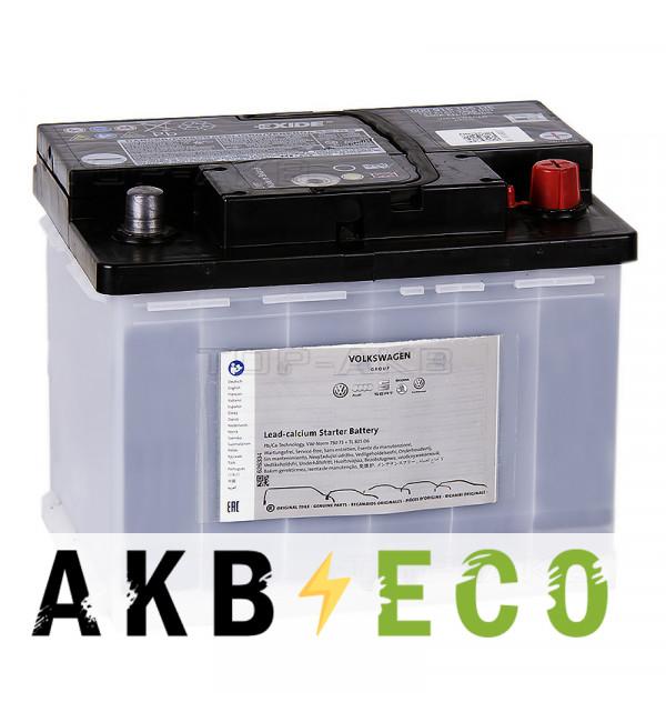 Автомобильный аккумулятор VAG Standart 61 Ач обратная пол. 330А (242x175x190) 00 915 105DE