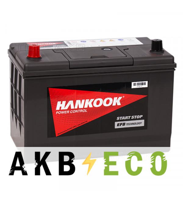 Автомобильный аккумулятор Hankook EFB 115D31R (80L 800А 306x175x225) Start-Stop