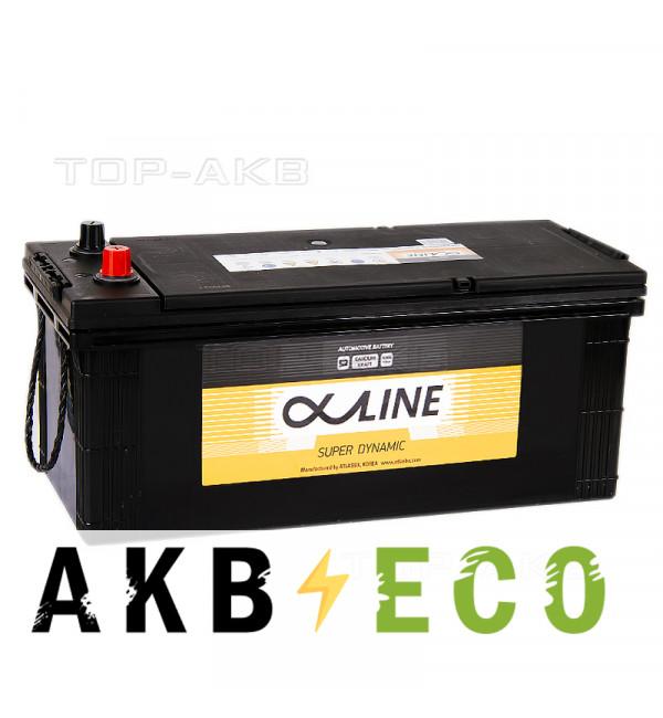 Автомобильный аккумулятор Alphaline SD 190G51L 190 Ач прямая пол. 1100A 513x223x223