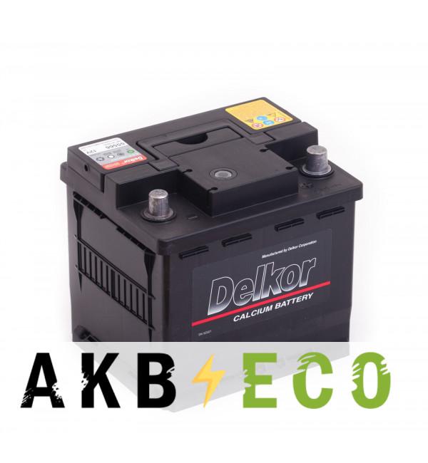 Автомобильный аккумулятор Delkor 55566 (55R 500A 207х174х190)