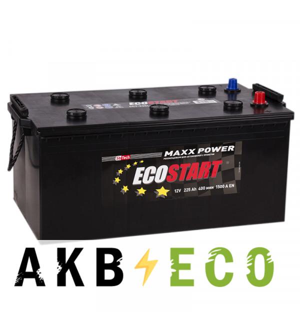 Автомобильный аккумулятор Ecostart 225 euro (1500А 518x273x223)