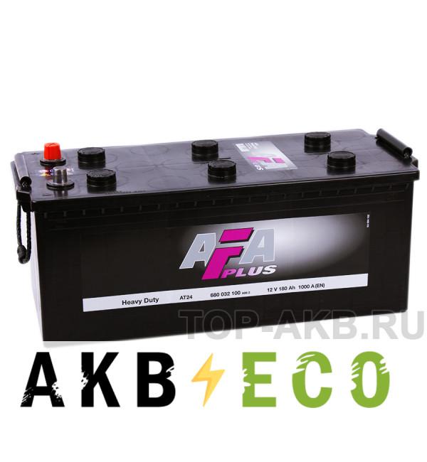 Автомобильный аккумулятор AFA Plus 180 евро 1000A (513x223x223) Heavy Duty AT24
