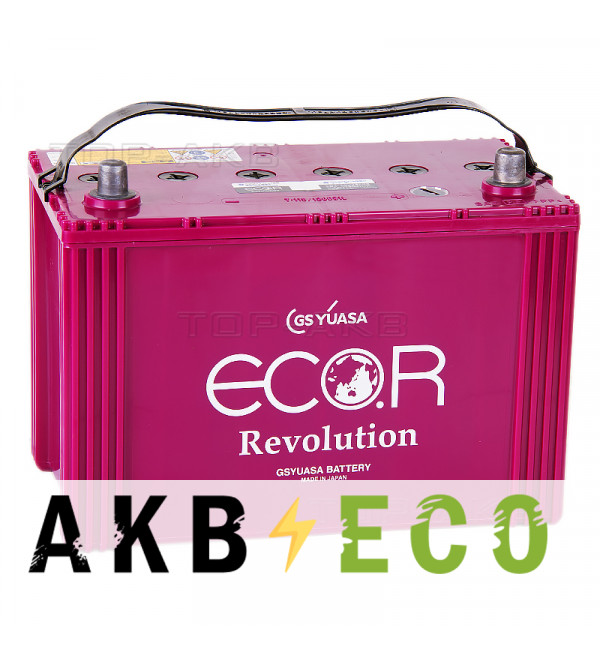 Автомобильный аккумулятор GS Yuasa ER-130D31L (90R 810A 305x173x227) ECO.R Revolution (EFB Start-Stop) T-115