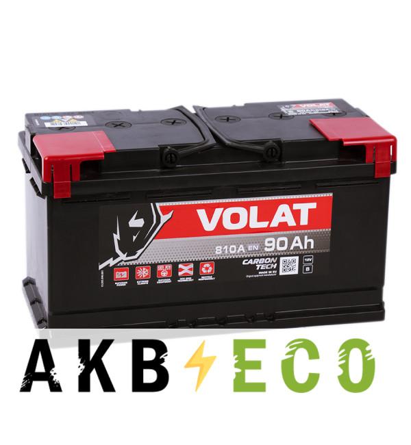 Автомобильный аккумулятор Volat 90R (810A 353x175x190)