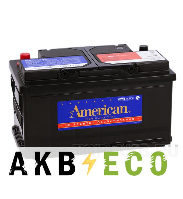 Автомобильный аккумулятор American 92730 (85R 730A 315x175x175)