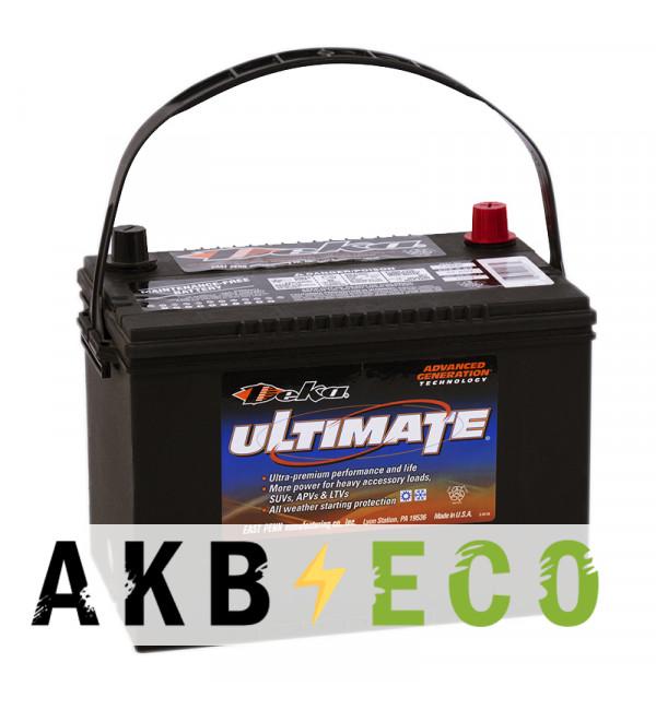 Автомобильный аккумулятор Deka 734MF 12V 85Ah (734MF 800A 260x171x200) прямая пол.
