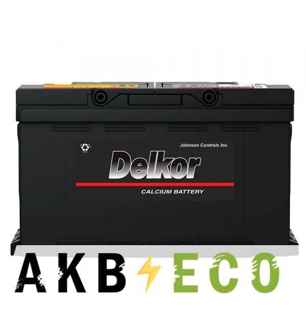 Автомобильный аккумулятор Delkor 59095 (90R 920A 315x175x190)