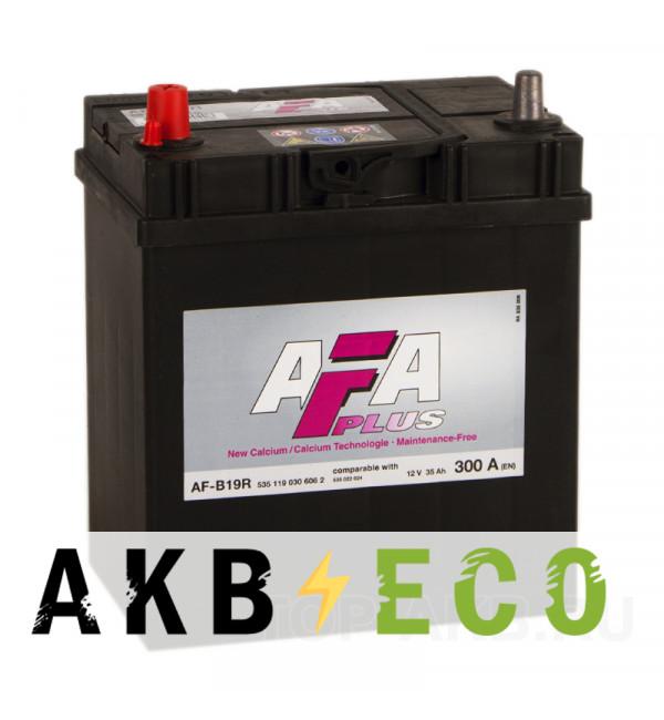 Автомобильный аккумулятор AFA Plus 35L 300A (187x127x227) AF-B19R