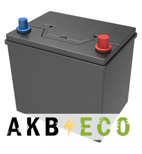 Автомобильный аккумулятор Подменный D23 обр. пол. (232x173x225) 60-65 Ач
