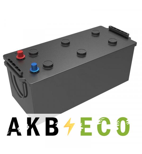 Автомобильный аккумулятор Подменный 180-190 Ач обр. пол. (513x223x223) плюс слева