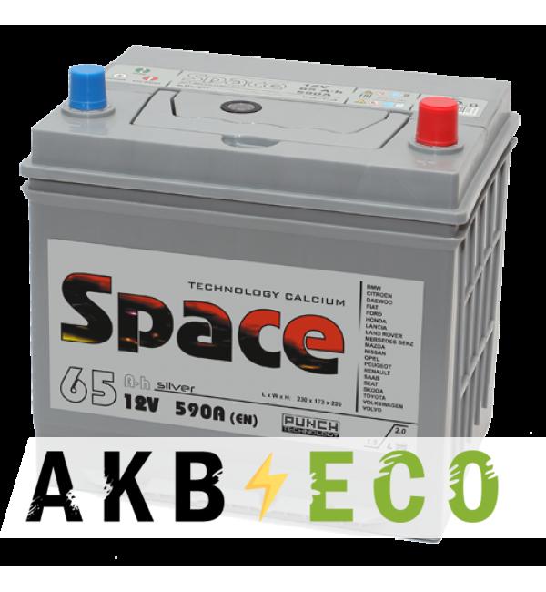 Автомобильный аккумулятор Space Asia 75D23L (65R 590A 232x173x225)