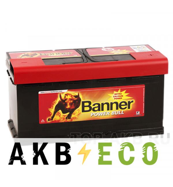Автомобильный аккумулятор BANNER Power Bull (88 20) 88R 700A 353х175х175