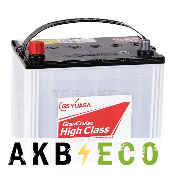 Автомобильный аккумулятор GS Yuasa GHC-85D26R (68L 615A 260x173x227) GranCruise High Class