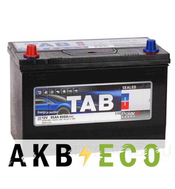 Автомобильный аккумулятор Tab Polar S 95L (850А 301x175x220) D31 прям. 246995 59519