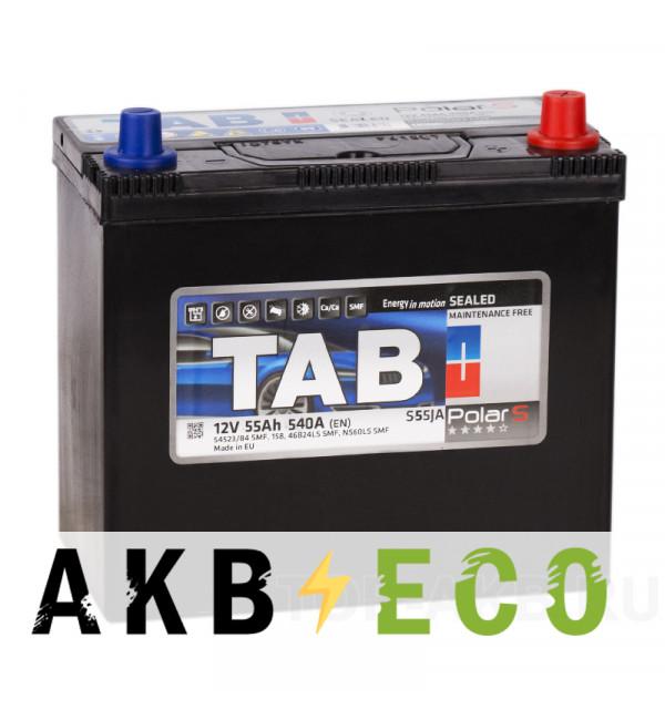 Автомобильный аккумулятор Tab Polar S 55R (540А 238x129x227) 246855 55523/84