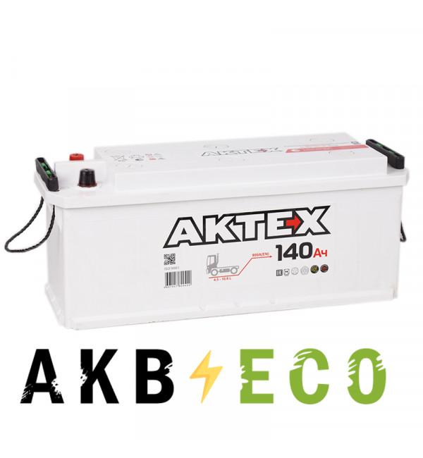 Автомобильный аккумулятор Актех 140 евро 900A 514x175x210