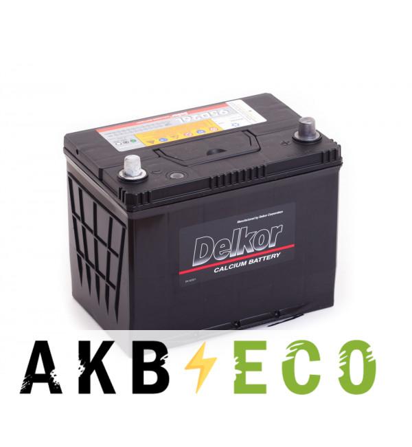 Автомобильный аккумулятор Delkor 95D26L (80R 680A 260x173x225)
