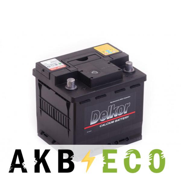 Автомобильный аккумулятор Delkor 55568 (55L 500A 207х174х190)