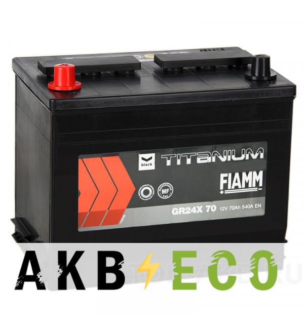Автомобильный аккумулятор Fiamm Asia 70L 540A 261x173x225