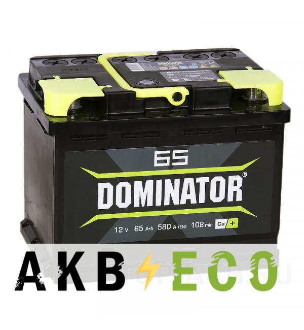 Автомобильный аккумулятор Dominator 65L 580А 242x175x190