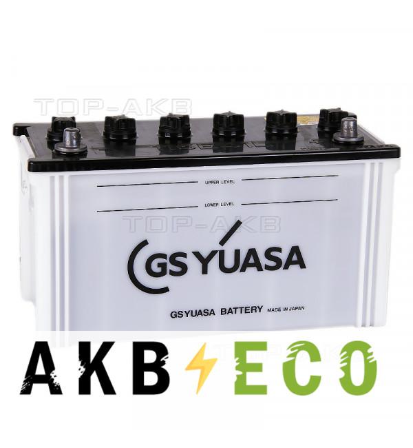 Автомобильный аккумулятор GS Yuasa 115E41L (110R 650A 409x175x233)