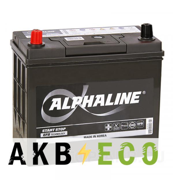 Автомобильный аккумулятор Alphaline EFB 70B24R 45L (460A 238x129x227) N55R Start-Stop