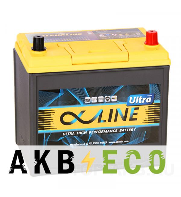 Автомобильный аккумулятор Alphaline Ultra 95D23L 78R 750A 232x173x225