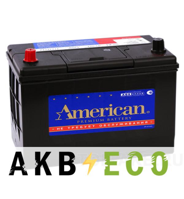 Автомобильный аккумулятор American 115D31R (100L 850A 306x173x225)