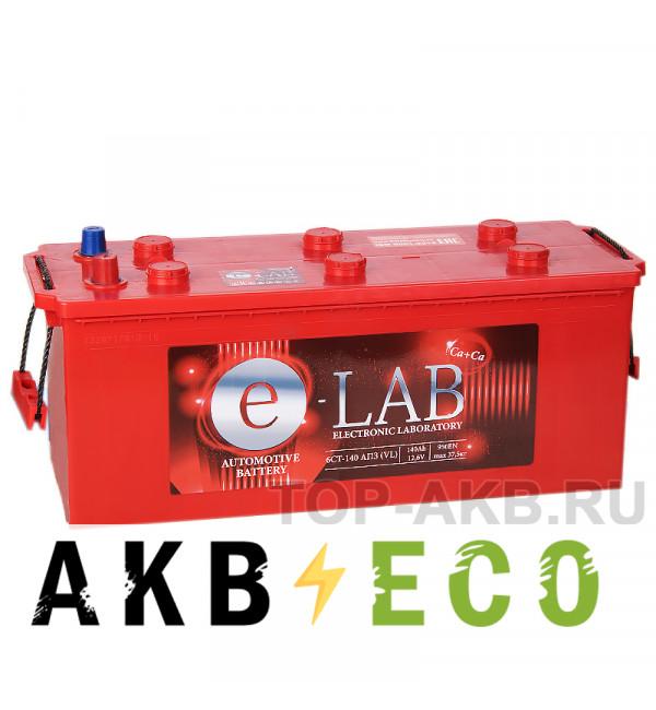 Автомобильный аккумулятор E-LAB 140 рус 950A (513x189x223)