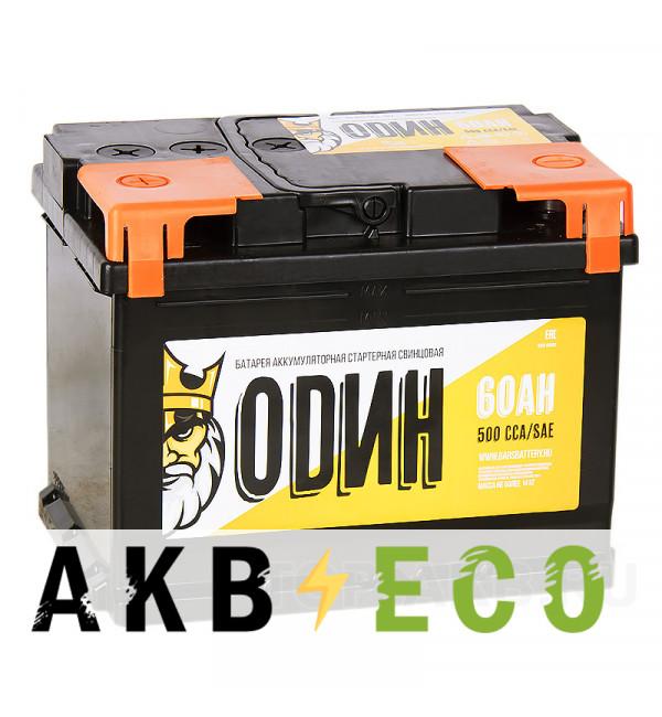 Автомобильный аккумулятор ОDИН 60L 500A 242x175x190