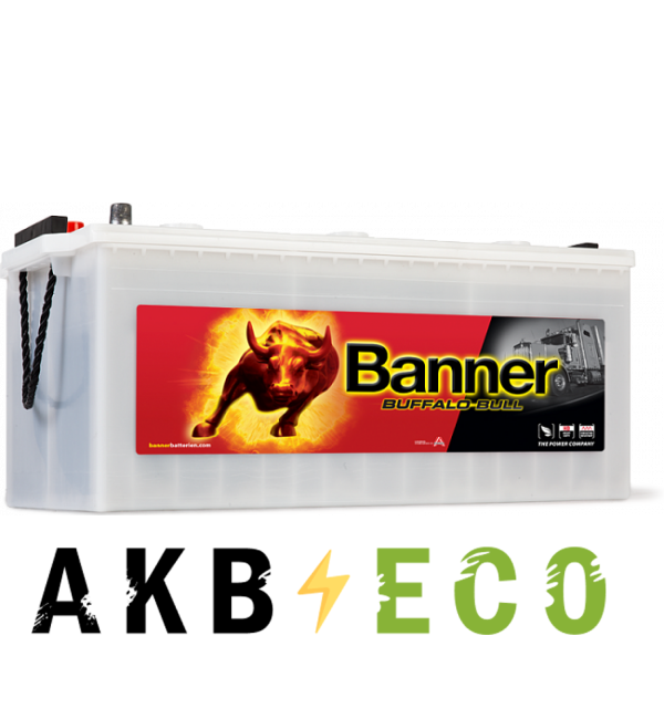 Автомобильный аккумулятор BANNER Buffalo Bull (725 11) 225 евро 1050A 517x273x240