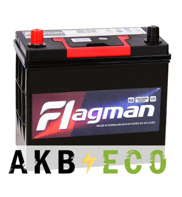 Автомобильный аккумулятор Flagman 65B24R 52L 480A 232x127x220