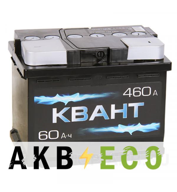 Автомобильный аккумулятор Квант 60R 460A 242x175x190