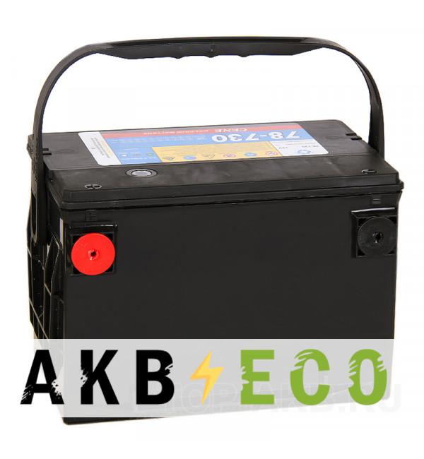 Автомобильный аккумулятор Cene 78-730 бок. кл. (90L 730A 260x175x185)