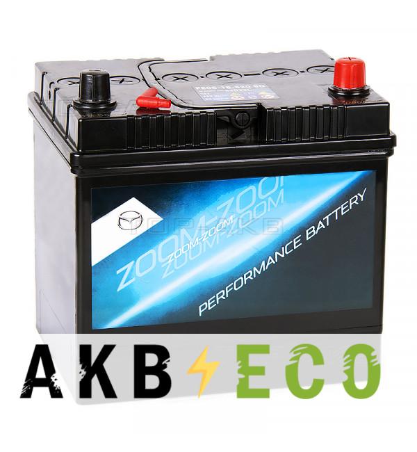 Автомобильный аккумулятор Mazda Standart PE1T185209B 60 Ач обратная пол. 520А (232x173x227) i-Stop