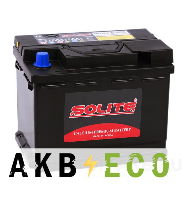 Автомобильный аккумулятор SOLITE 56219 (62R 600А 242x174x189)