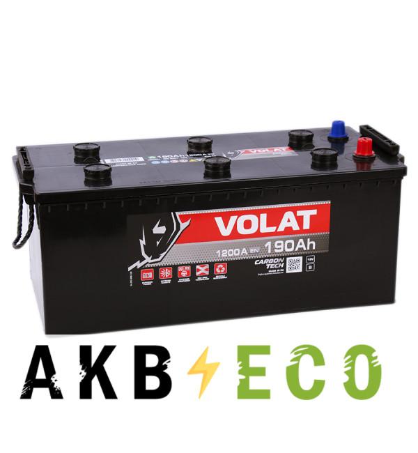 Автомобильный аккумулятор Volat 190 евро (1200A 513x223x223)