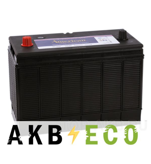 Автомобильный аккумулятор American 311000 (140 uni 1000A 330x173x240)