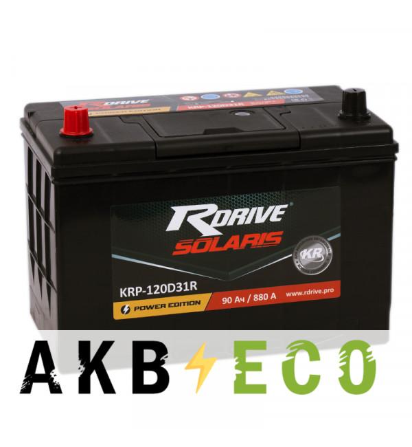Автомобильный аккумулятор R-Drive 120D31R (90L 880А 306x173x225)