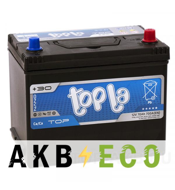 Автомобильный аккумулятор Topla Top JIS 70R 700А 261x175x220 (118870 57029)