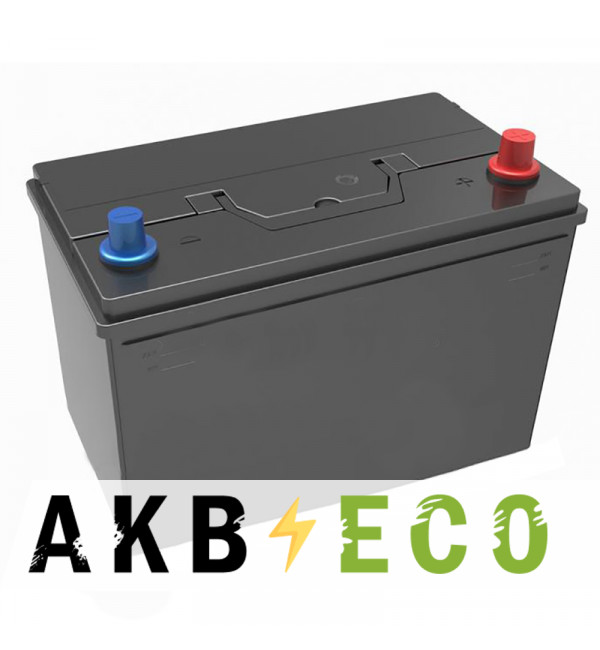 Автомобильный аккумулятор Подменный D31 обр. пол. (306x173x225) 90-100 Ач